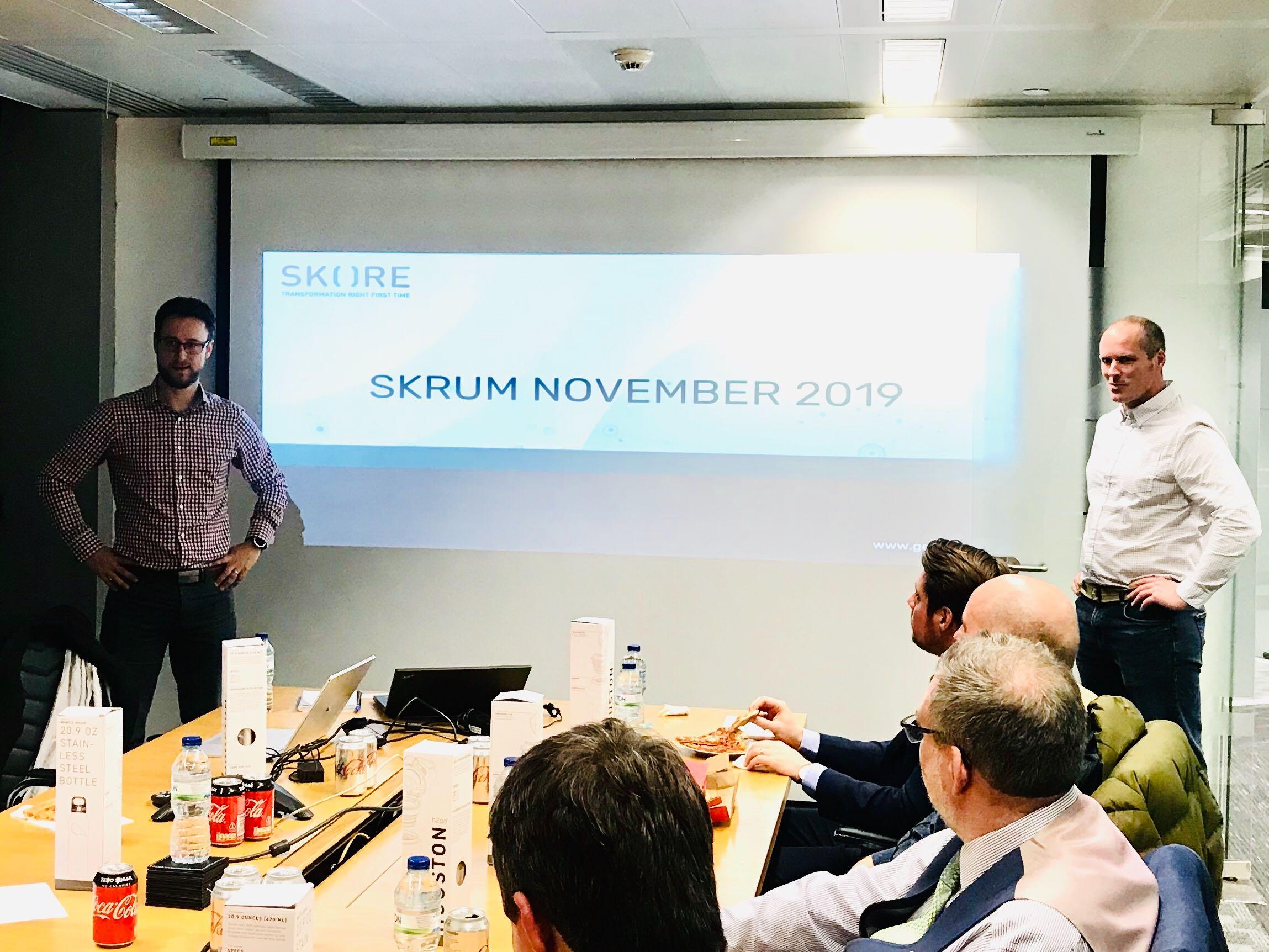 Skrum November Event