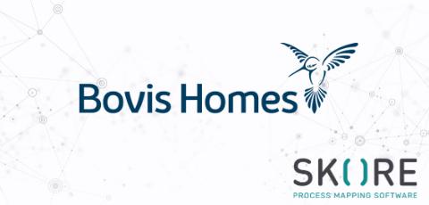 Bovis Home logo with Skore